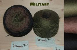 Mütze Military  6-fädig