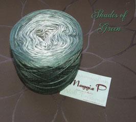Shades of Green meliert  (Viskose) 4-fädig