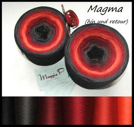 """""""Magma""""  - hin und retour (5-fädig)"""