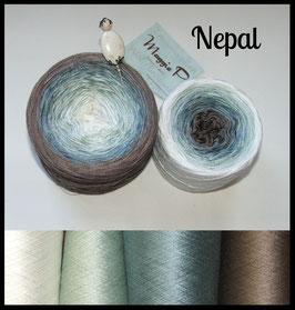Nepal  (Viskose) 4-fädig