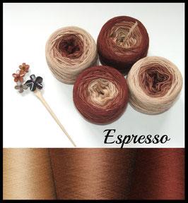 ! Mütze Espresso 5-fädig;