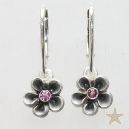 Blume Ohrhänger,12mm