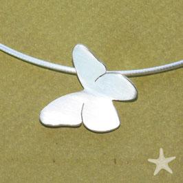Schmetterling Anhänger in Silber