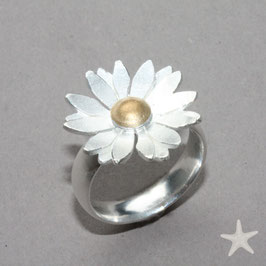 Margeriten Ring , Blüte 2,2cm,