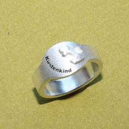 Ring Küstenkind und Anker