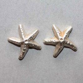 Seesterne  Silber, 13mm