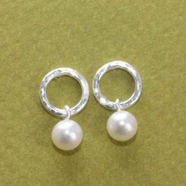 Ohrstecker mit Perle,925 Silber,9mm