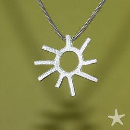 Sonne / Anhänger Silber, klein