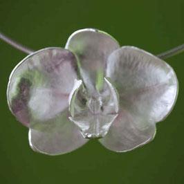 Orchidee Blumen Anhänger , groß, 6,5 x5cm