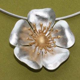 Blüten Anhänger , große Heckenrose
