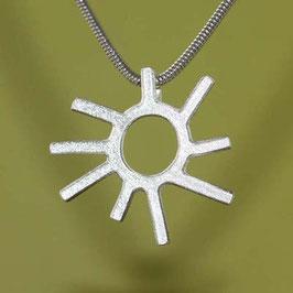Sonnen Anhänger Silber, klein