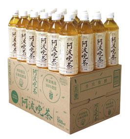 阿波晩茶100%ペットボトル500ml 24本入