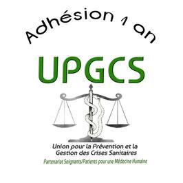 Adhésion pour 1 an à UPGCS