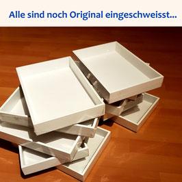 8 x Tablarbox / Holzrahmen Original eingeschweisst verpackt