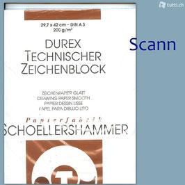 A3 Durex Technischer Zeichenblock Schoellershammer