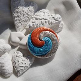 Keramik Circle Spirale