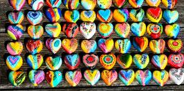 Kunstkarte Herzen-Rudel
