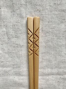 Zigzag箸