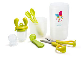 Baby Travel Set Easy - Lime