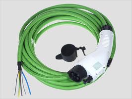 Ladekabel Typ 1 nach IEC 62196-2 mit offenem Ende