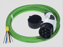 Ladekabel Typ 2 nach IEC 62196-2 mit offenem Ende
