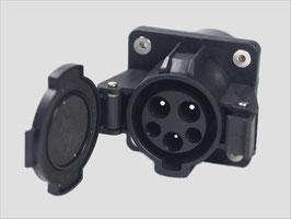 Einbau-Fahrzeugstecker Dostar Typ 1 nach IEC 62196-2