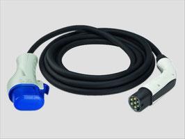 Ladekabel Typ 3C auf Typ 2 nach IEC 62196-2