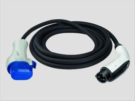 Ladekabel Typ 3C auf Typ 1 nach IEC 62196-2