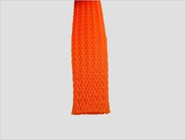 Geflechtschlauch orange 10 - 15 mm