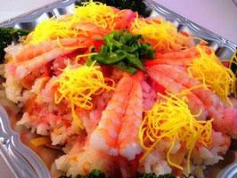 ちらし寿司(2~3名様分)