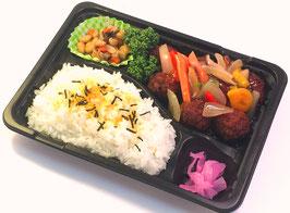 ガチ弁当(肉団子野菜あん)