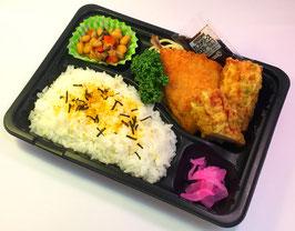 ガチ弁当(魚フライ)