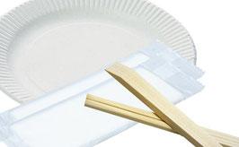 【追加】箸・皿・おしぼりセット