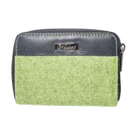 Grazia Geldbörse Damen Medium grün