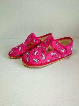 Beda Hausschuh - Pink Unicorn