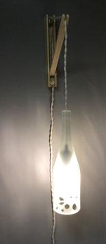 AP100 -Applique Pinocchio flûte blanche sablé 75cl