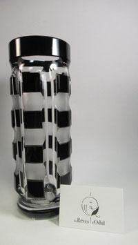 Vase en cristal doublé