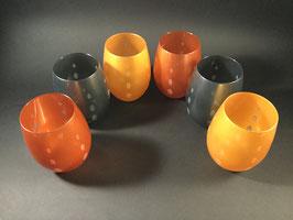 VE107- Service de 6 verres à eau