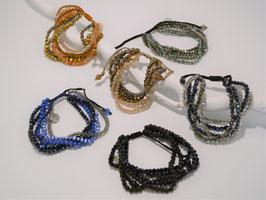Mehrreihige Armbänder, versch. Farben