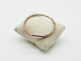 Armband 'Funkelnde Kristalle' im Netz, drei Farben