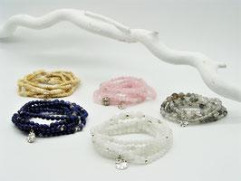 Loop-Armbänder, versch. Farben