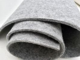 5-mm-Wollfilz hellgrau-meliert, grau-meliert