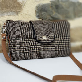 Portefeuille Nomade Tweed