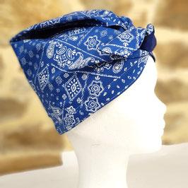 Turban PLN Bandana bleu