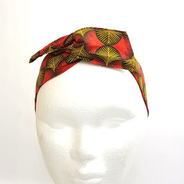 Headband Miami rouge