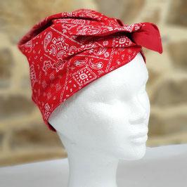 Turban PLN Bandana rouge