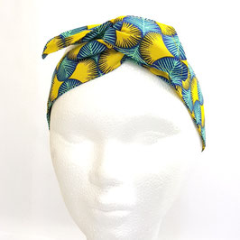Headband Miami Bleu