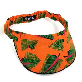 Visière Tropique orange