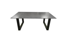 Beton Tisch Esstisch modern minimalistisch Esszimmer Design Esszimmertisch Küchentisch