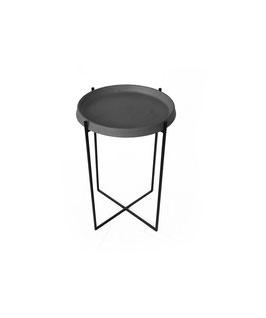 OKED Beton Beistelltisch Tisch Esstisch modern minimalistisch Wohnzimmertisch Design